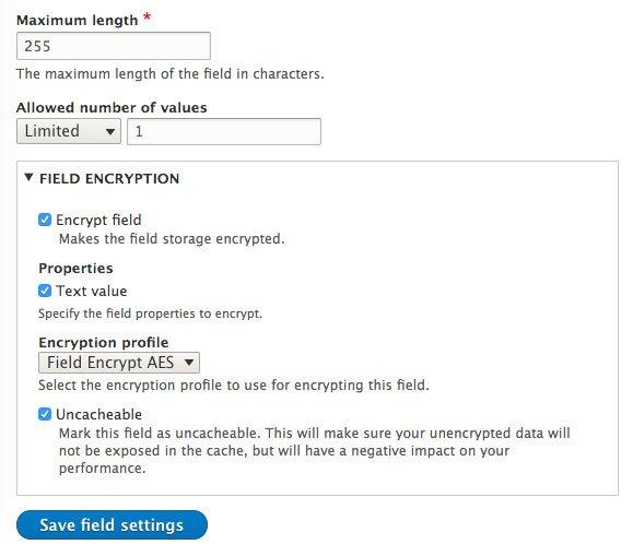 How to Encrypt Field Data in Drupal 8 - Daggerhart