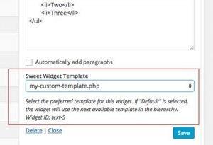 sweet-widget-templates